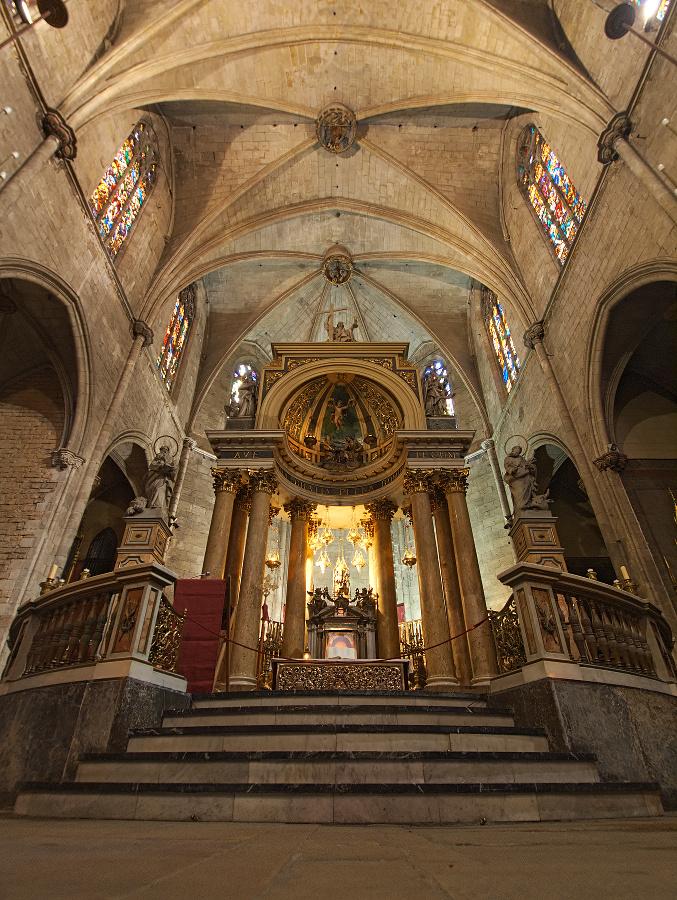 Church of Sants Just i Pastor, Barcelona