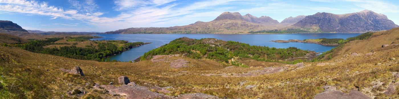 Upper Loch Torridon Panorama