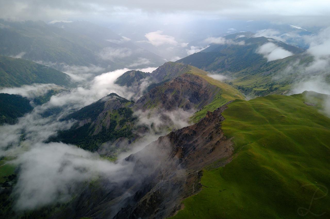 Gloomy Alps