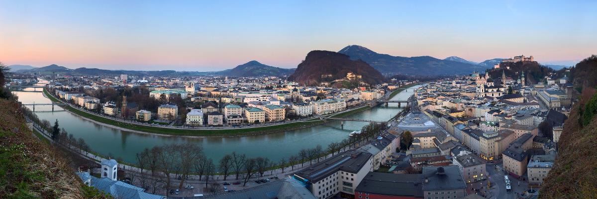 Salzburg City - Panorama