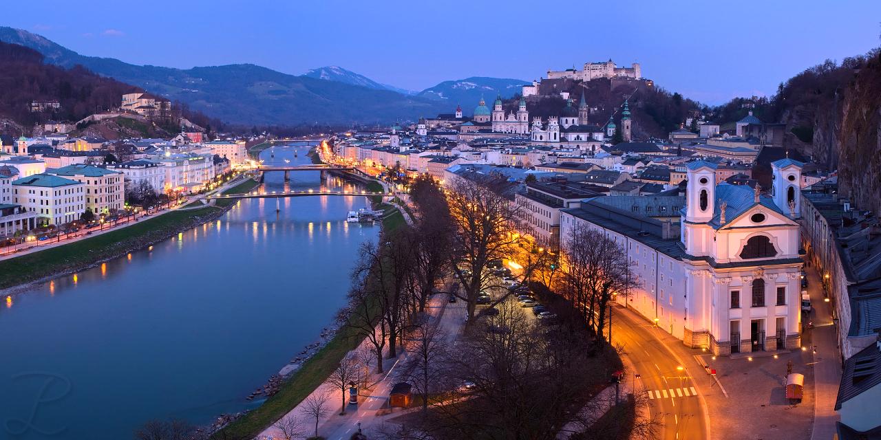 Salzburg Old City - Panorama