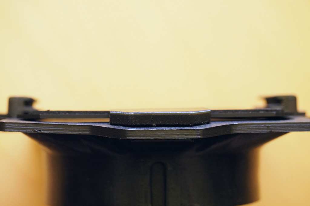 Verzogener Filterhalter 2
