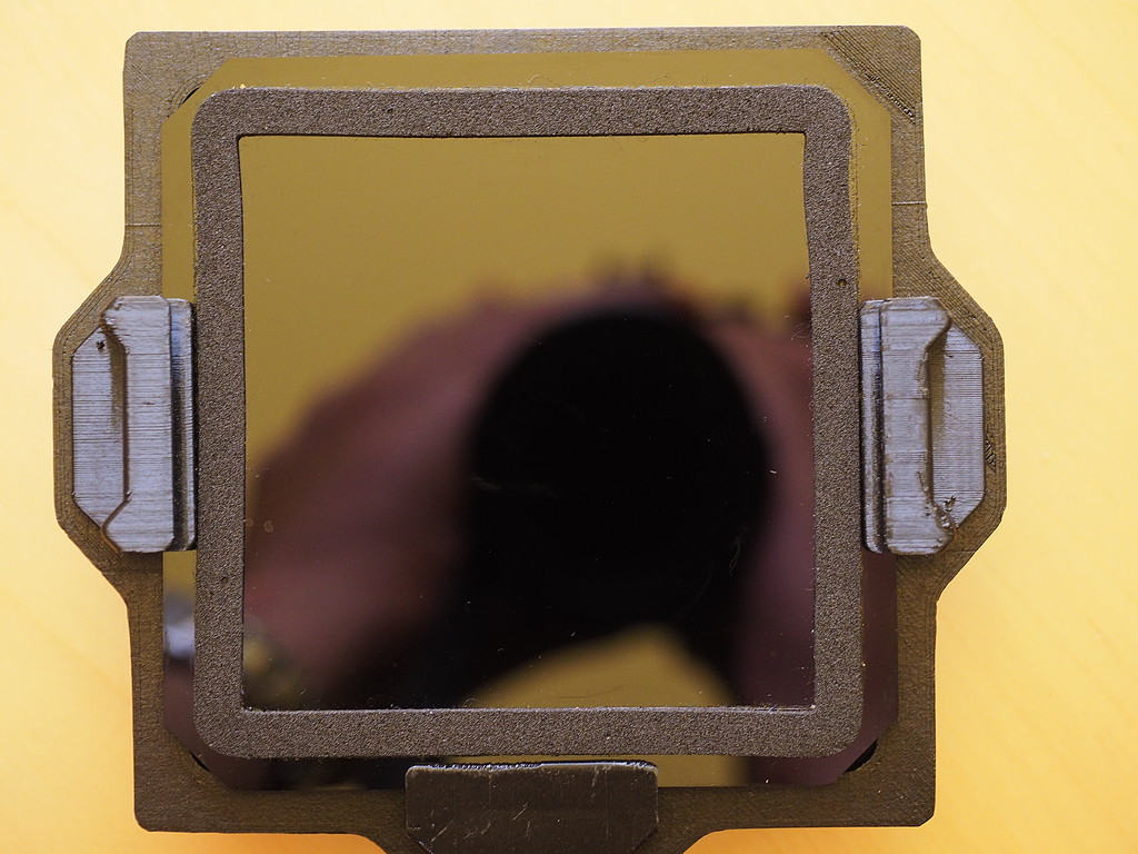 Filterhalter nicht mit allen Einschubfiltern kompatibel
